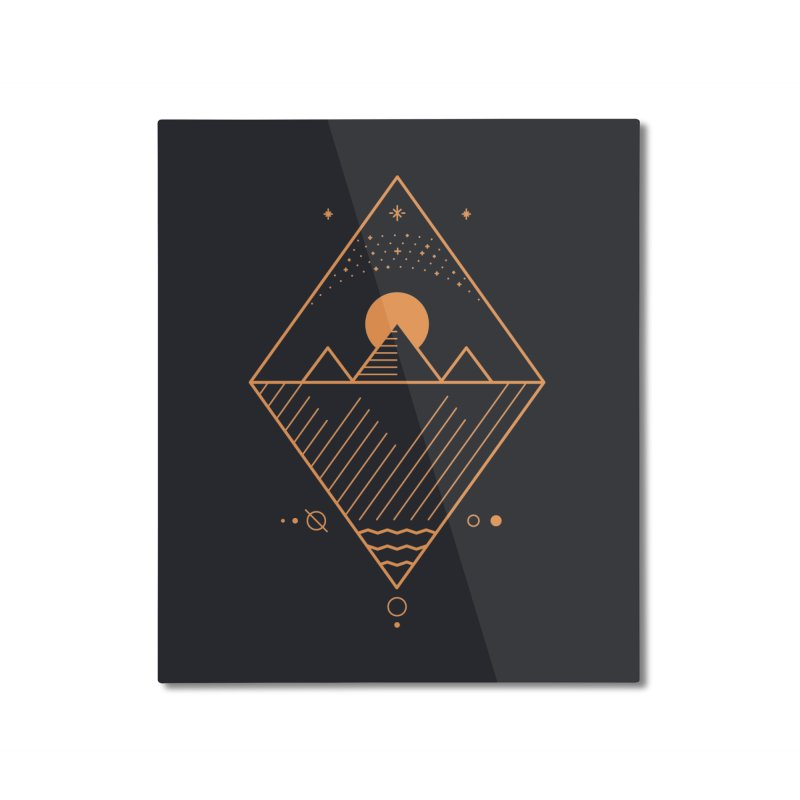 Osiris Home Mounted Aluminum Print by thepapercrane's shop