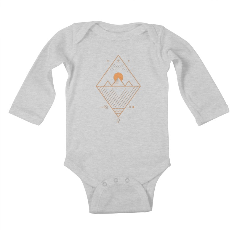 Osiris Kids Baby Longsleeve Bodysuit by thepapercrane's shop