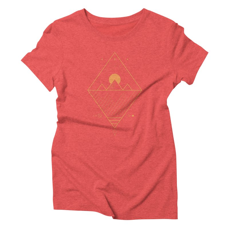 Osiris Women's Triblend T-Shirt by thepapercrane's shop