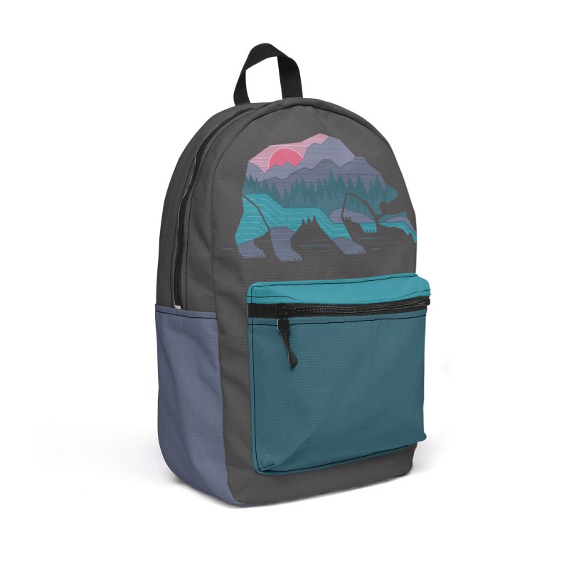 Bear Country Accessories Backpack Bag by thepapercrane's shop