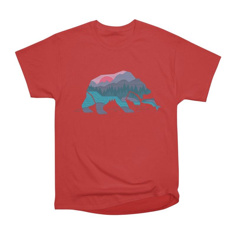Bear Country Women's Classic Unisex T-Shirt by thepapercrane's shop