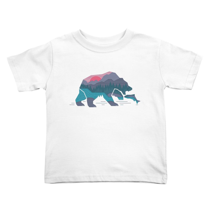 Bear Country Kids Toddler T-Shirt by thepapercrane's shop