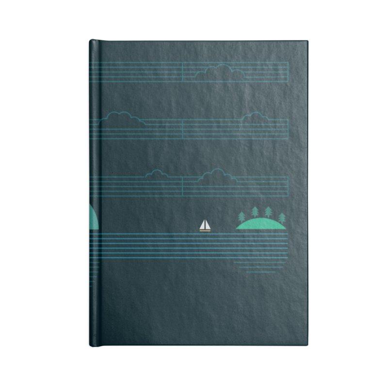 Island Folk Accessories Notebook by thepapercrane's shop