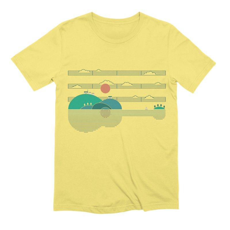 Island Folk Men's Extra Soft T-Shirt by thepapercrane's shop