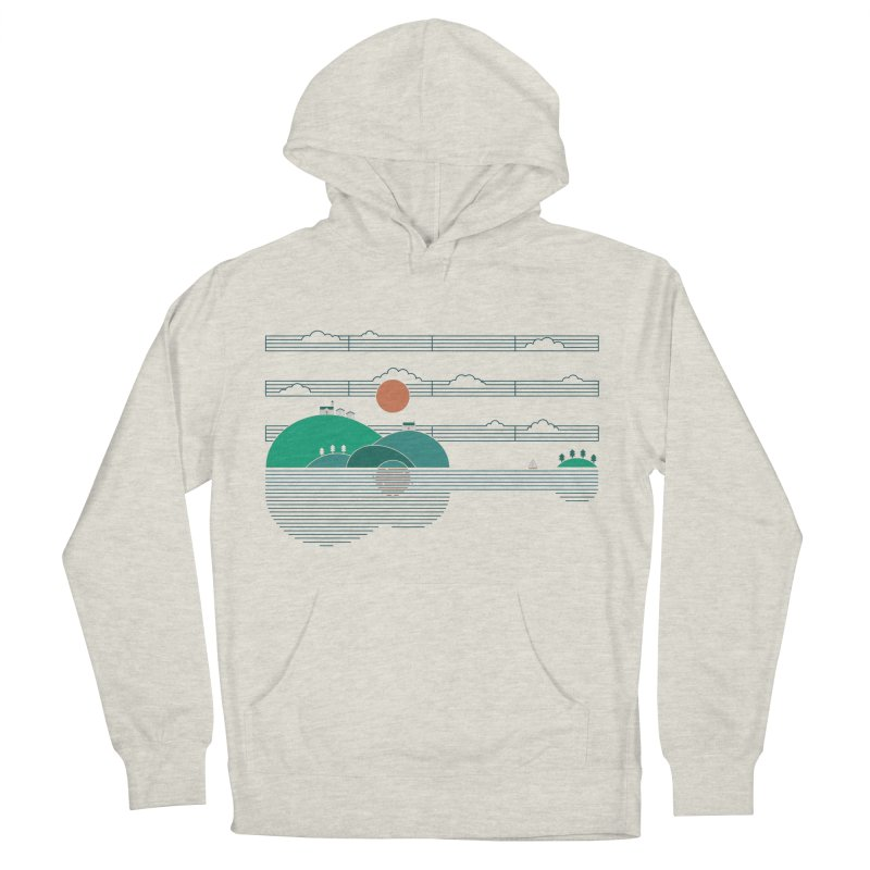 Island Folk Women's Pullover Hoody by thepapercrane's shop