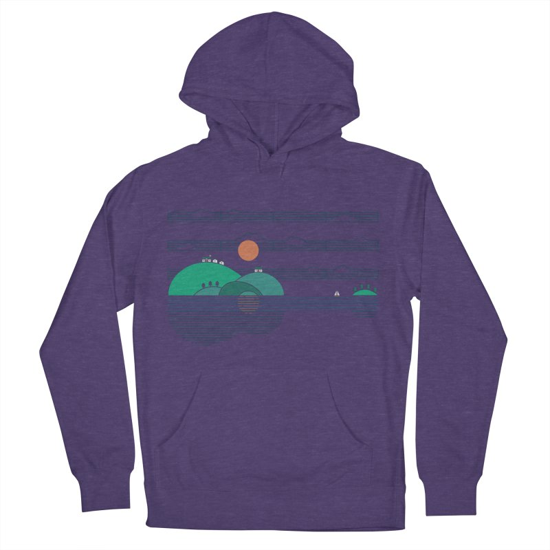 Island Folk Men's Pullover Hoody by thepapercrane's shop