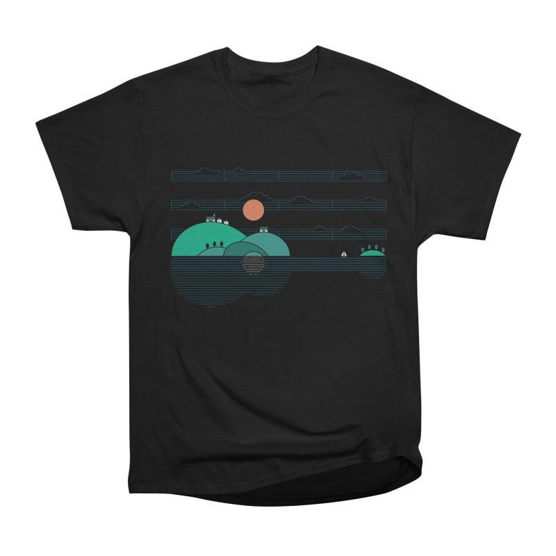 Island Folk Men's Heavyweight T-Shirt by thepapercrane's shop