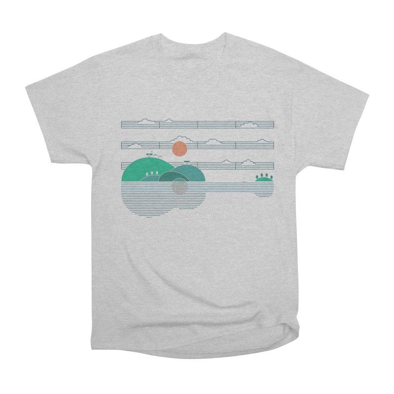 Island Folk Men's Classic T-Shirt by thepapercrane's shop