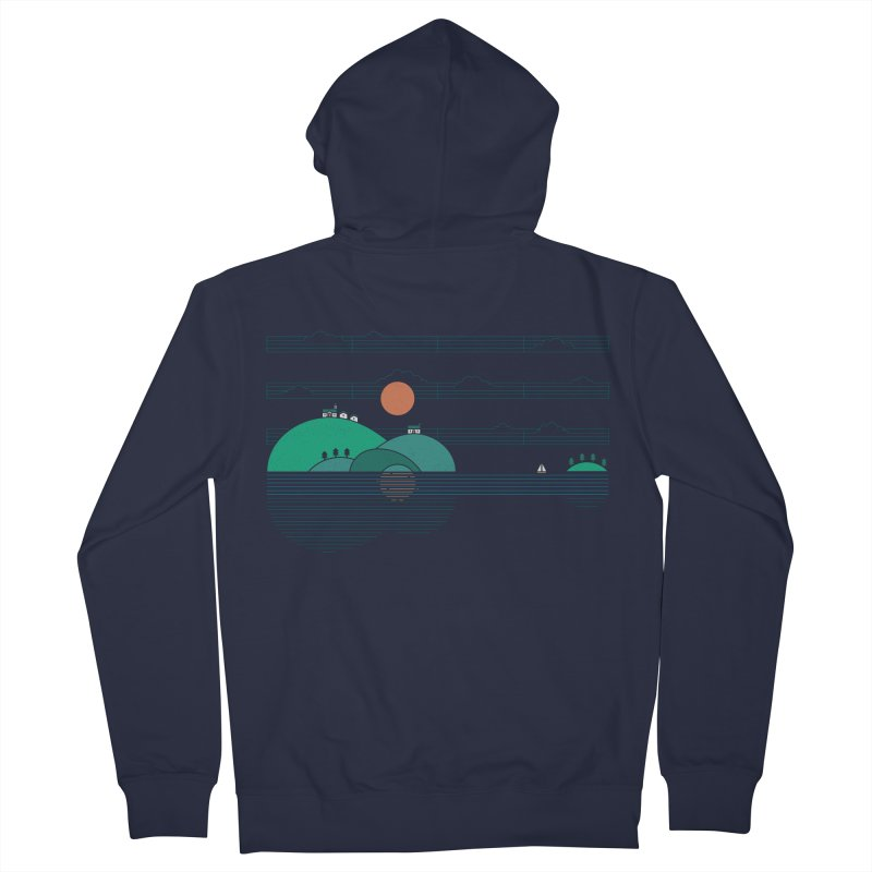 Island Folk Women's Zip-Up Hoody by thepapercrane's shop