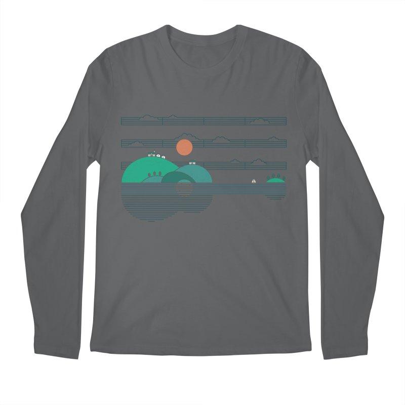 Island Folk Men's Regular Longsleeve T-Shirt by thepapercrane's shop