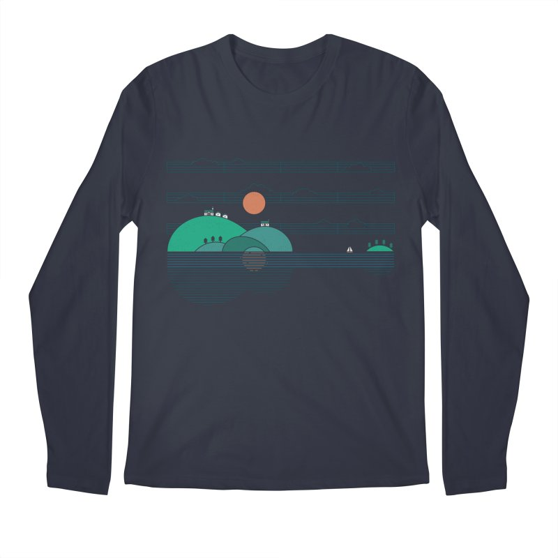 Island Folk Men's Longsleeve T-Shirt by thepapercrane's shop