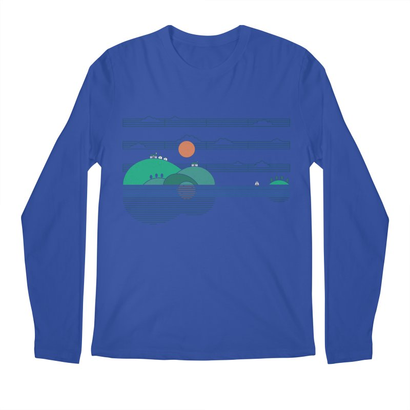 Island Folk Men's Regular Longsleeve T-Shirt by thepapercrane's shop