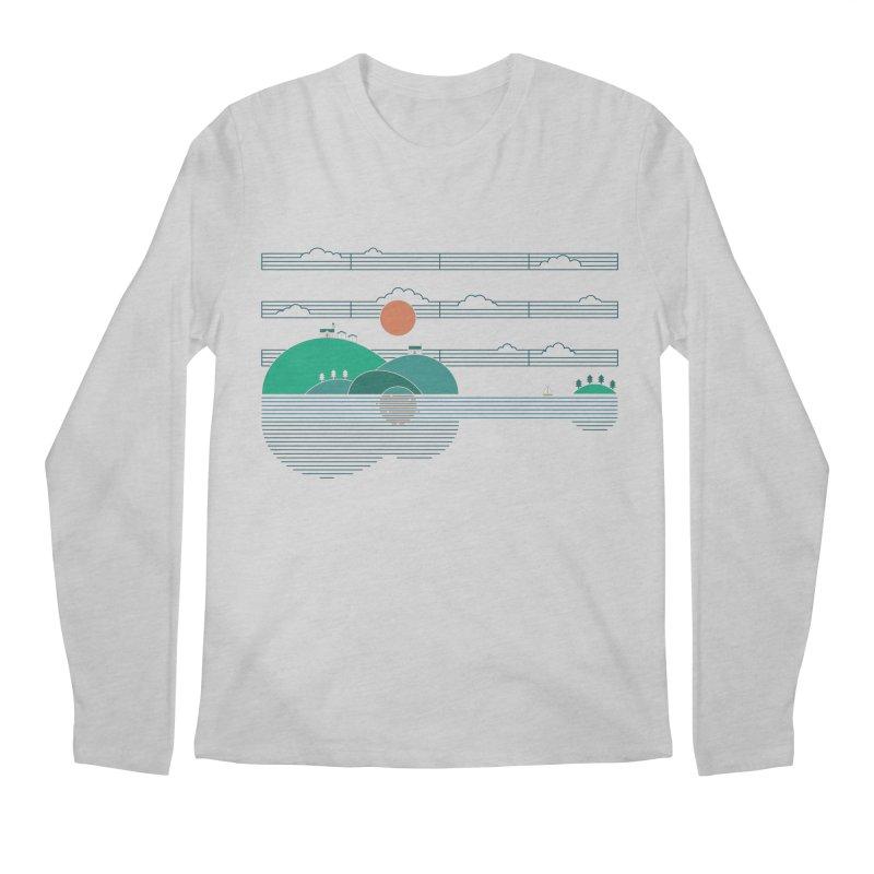 Island Folk Men's Longsleeve T-Shirt by thepapercrane's shop