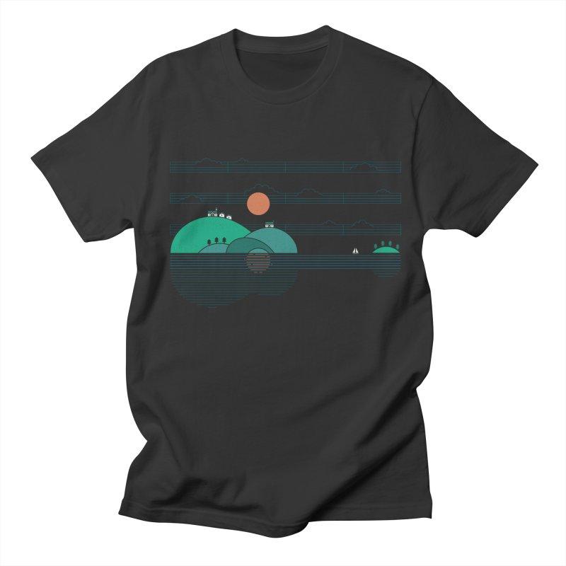 Island Folk Men's Regular T-Shirt by thepapercrane's shop