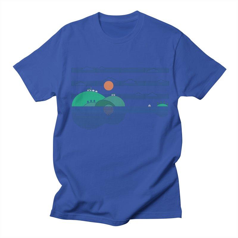 Island Folk Women's Regular Unisex T-Shirt by thepapercrane's shop