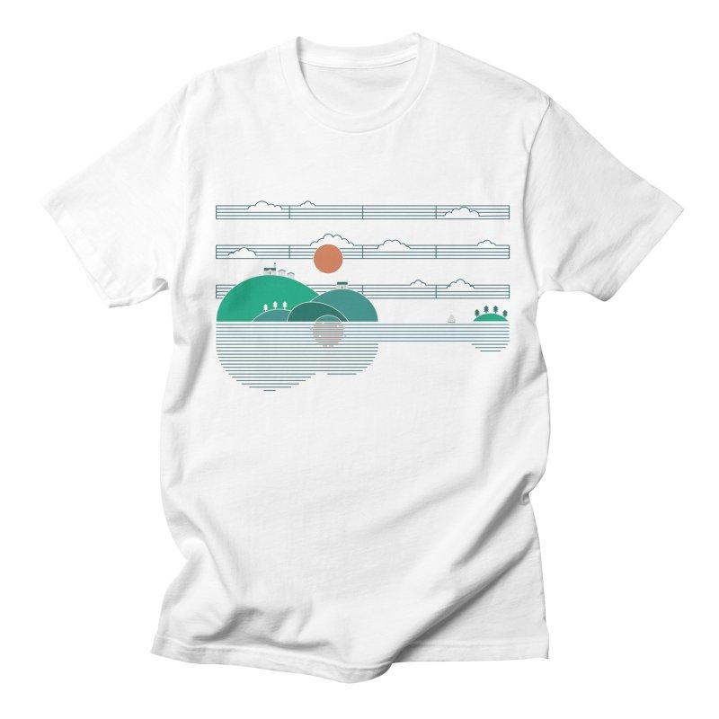 Island Folk Men's T-Shirt by thepapercrane's shop