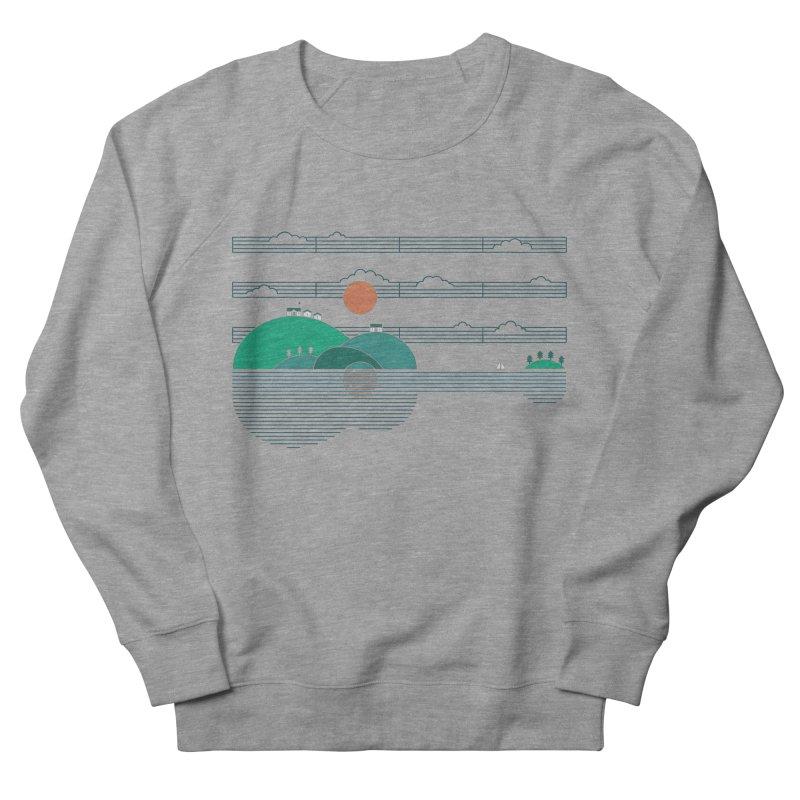 Island Folk Men's French Terry Sweatshirt by thepapercrane's shop