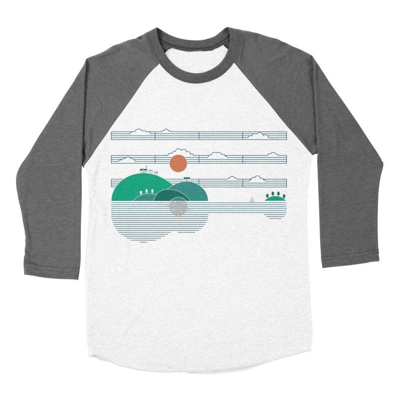 Island Folk Women's Baseball Triblend Longsleeve T-Shirt by thepapercrane's shop
