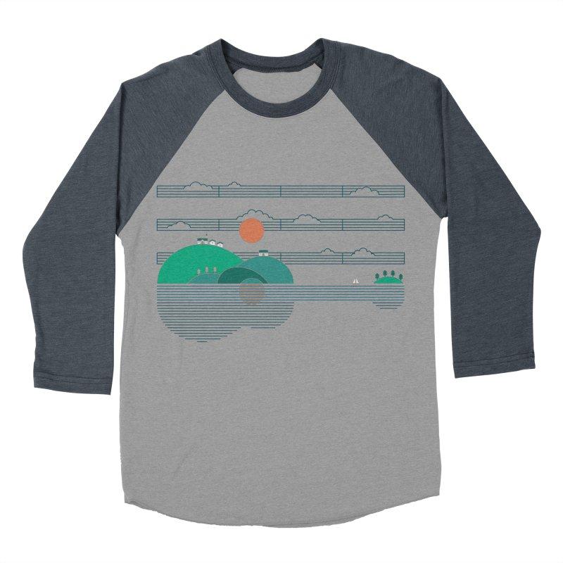 Island Folk Women's Baseball Triblend T-Shirt by thepapercrane's shop
