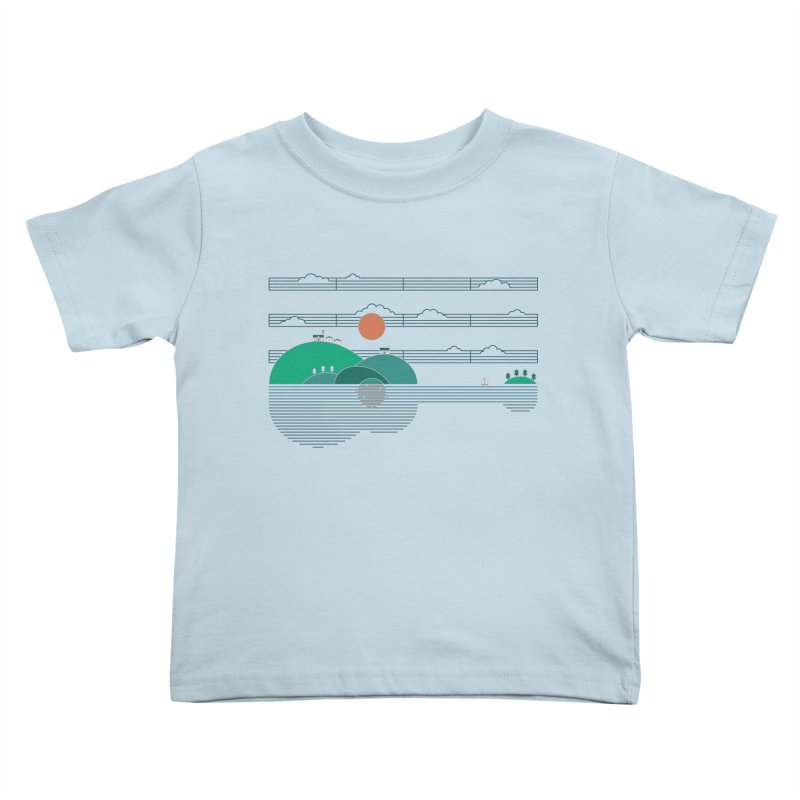 Island Folk Kids Toddler T-Shirt by thepapercrane's shop