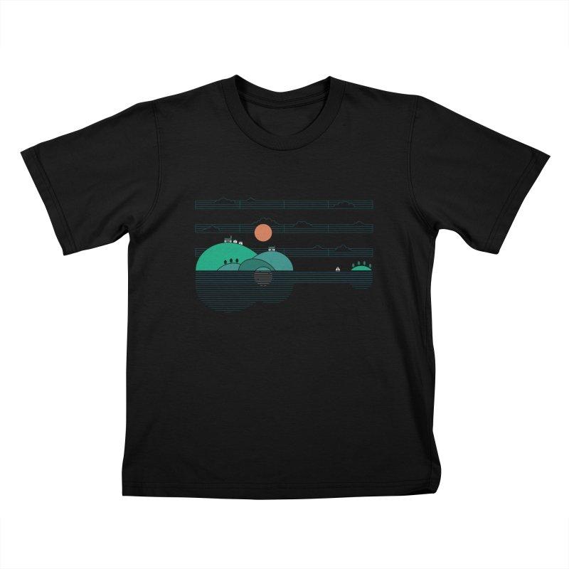 Island Folk Kids T-Shirt by thepapercrane's shop