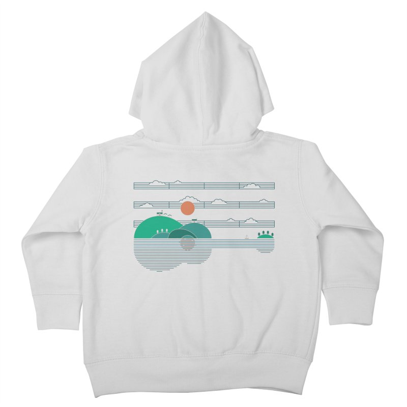 Island Folk Kids Toddler Zip-Up Hoody by thepapercrane's shop