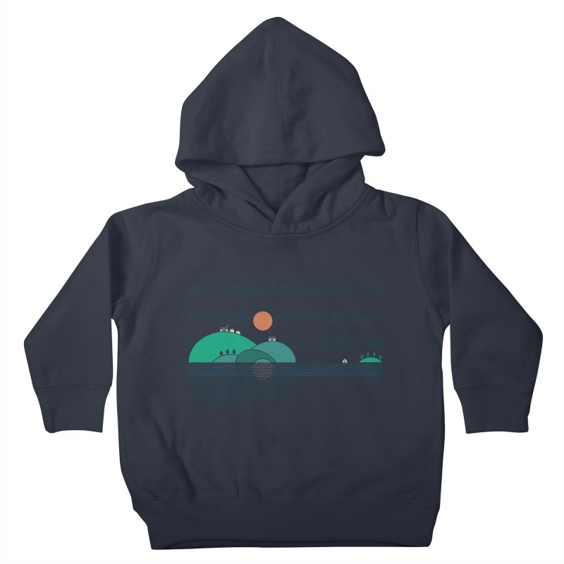 Island Folk Kids Toddler Pullover Hoody by thepapercrane's shop