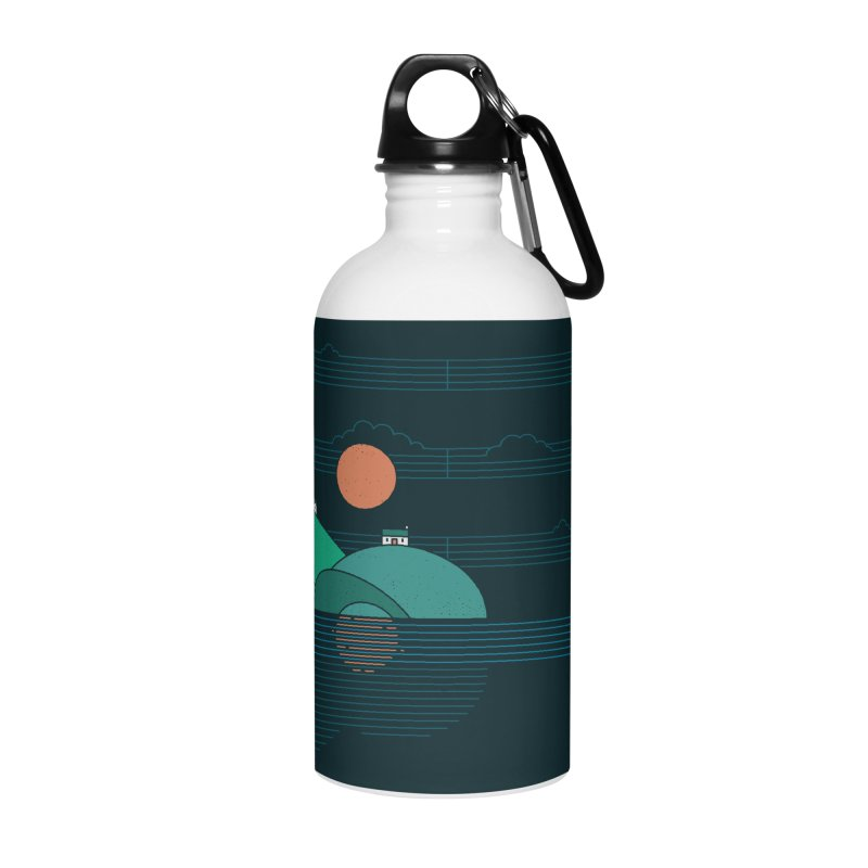 Island Folk Accessories Water Bottle by thepapercrane's shop