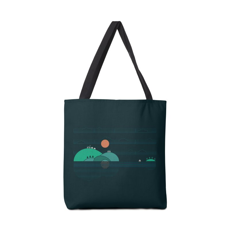 Island Folk Accessories Bag by thepapercrane's shop