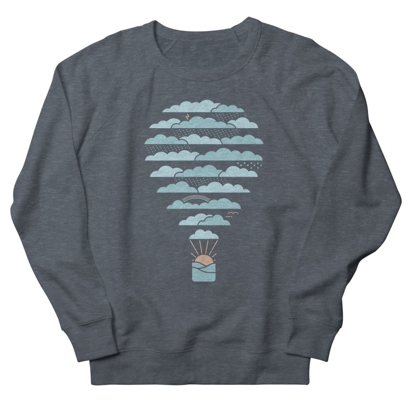 Weather Balloon Women's Sweatshirt by thepapercrane's shop