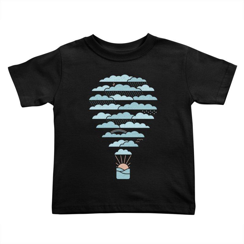 Weather Balloon Kids Toddler T-Shirt by thepapercrane's shop