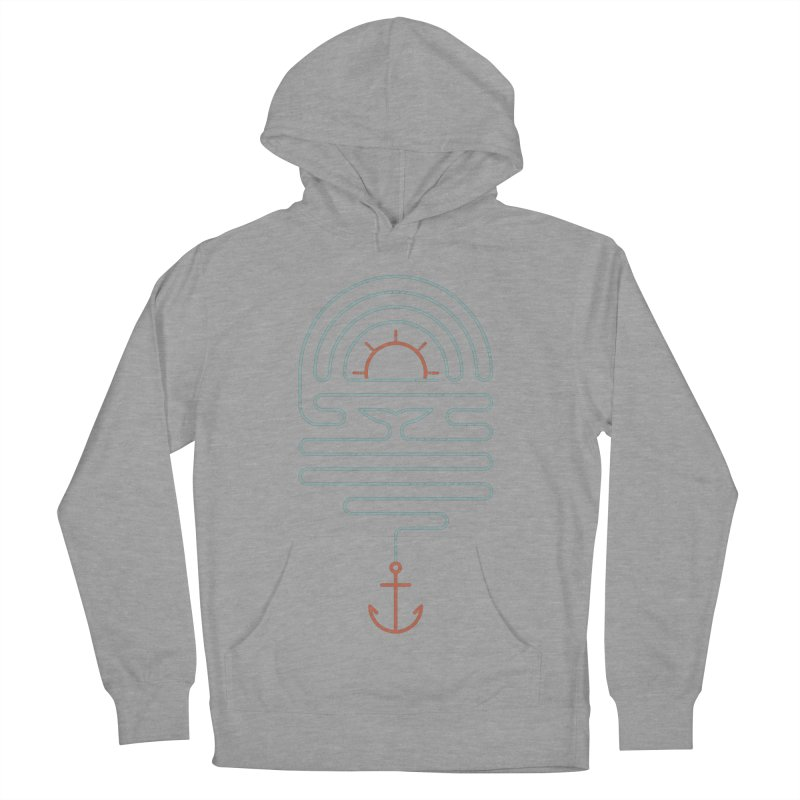 The Tale of the Whale Men's French Terry Pullover Hoody by thepapercrane's shop