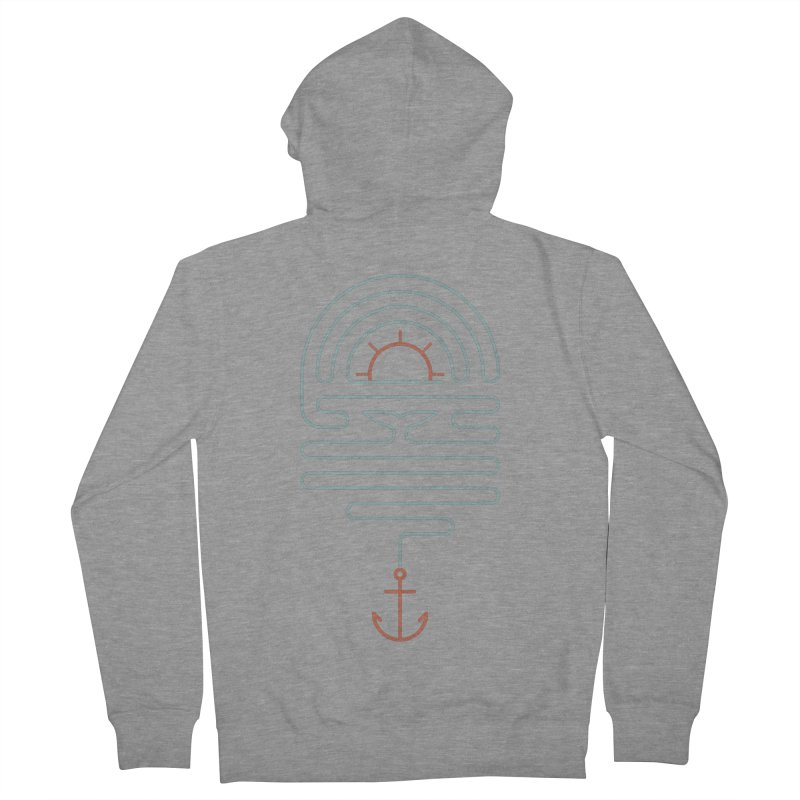The Tale of the Whale Women's French Terry Zip-Up Hoody by thepapercrane's shop