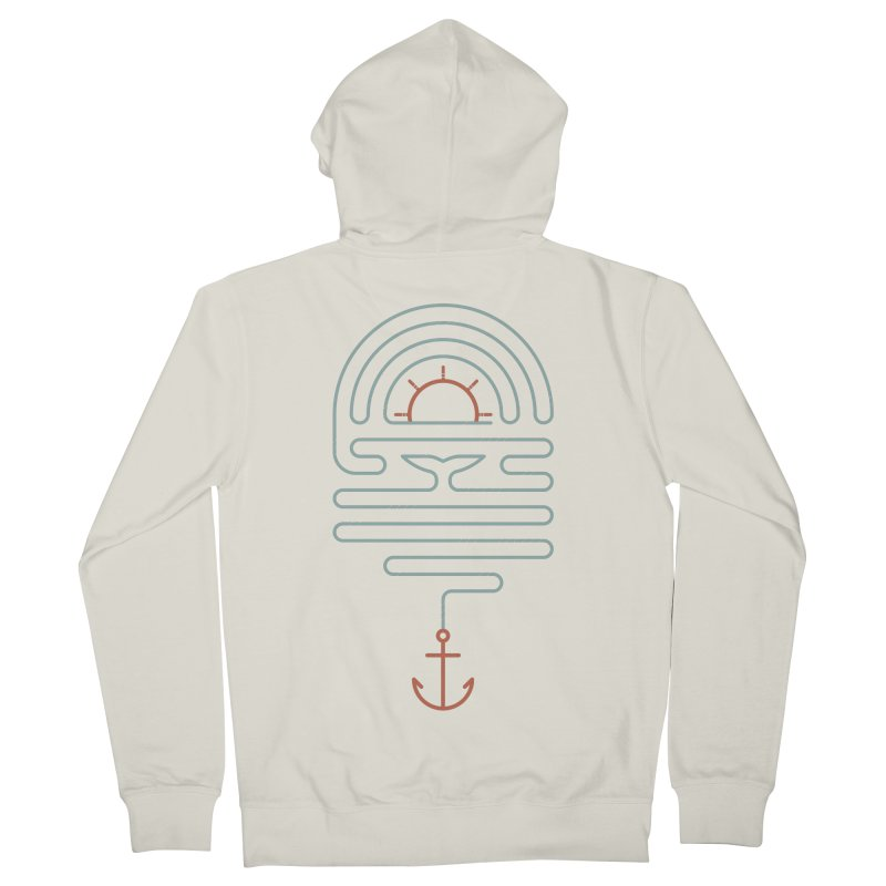 The Tale of the Whale Women's Zip-Up Hoody by thepapercrane's shop