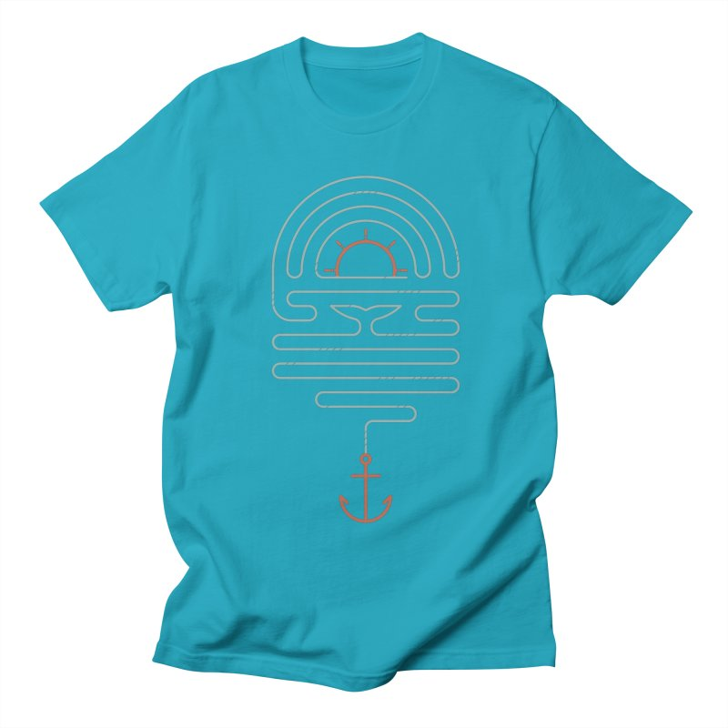 The Tale of the Whale Men's Regular T-Shirt by thepapercrane's shop