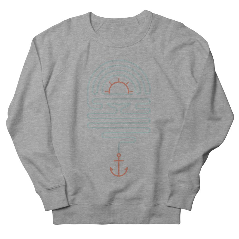 The Tale of the Whale Women's French Terry Sweatshirt by thepapercrane's shop