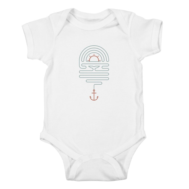 The Tale of the Whale Kids Baby Bodysuit by thepapercrane's shop