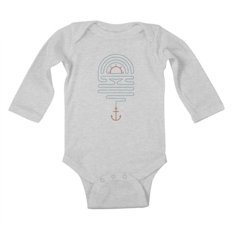 The Tale of the Whale Kids Baby Longsleeve Bodysuit by thepapercrane's shop
