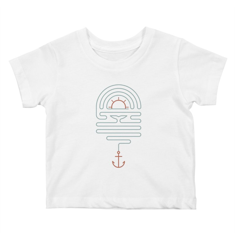 The Tale of the Whale Kids Baby T-Shirt by thepapercrane's shop