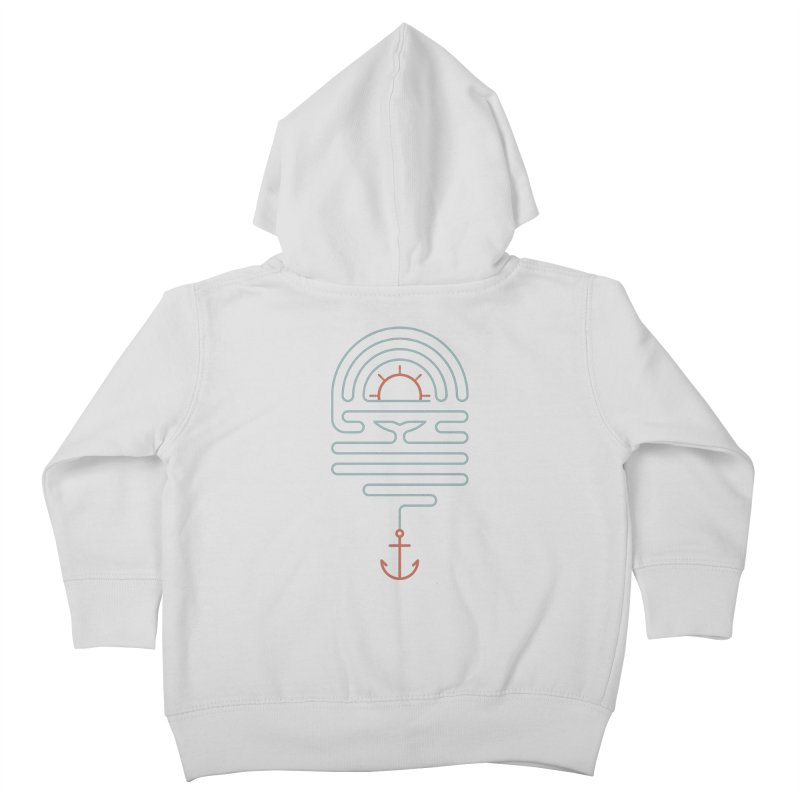 The Tale of the Whale Kids Toddler Zip-Up Hoody by thepapercrane's shop