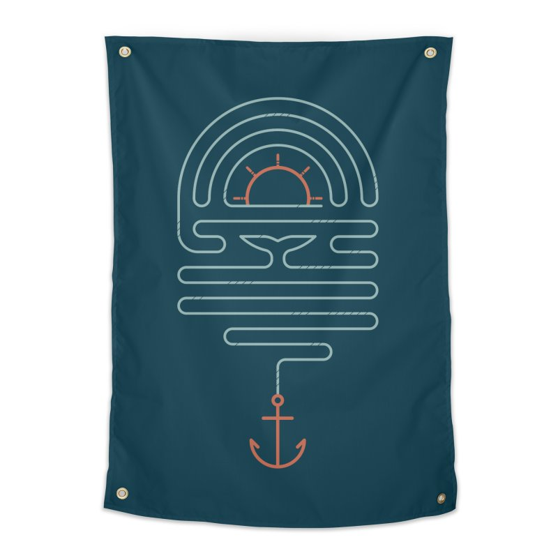 The Tale of the Whale Home Tapestry by thepapercrane's shop