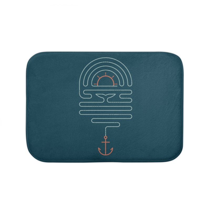 The Tale of the Whale Home Bath Mat by thepapercrane's shop