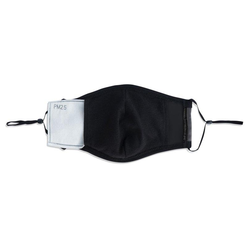 Linear Light Accessories Face Mask by thepapercrane's shop