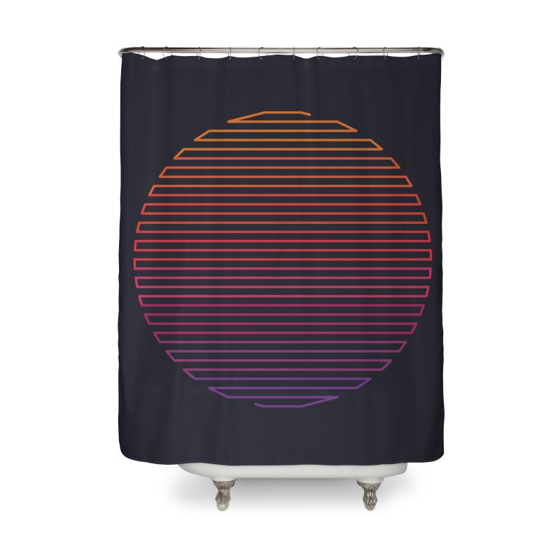 Linear Light Home Shower Curtain by thepapercrane's shop