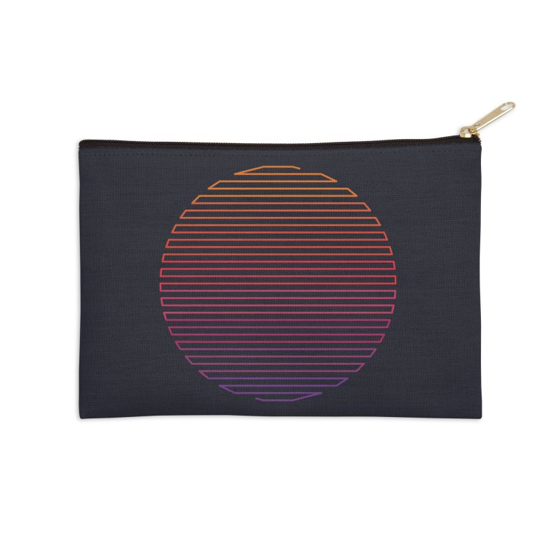 Linear Light Accessories Zip Pouch by thepapercrane's shop