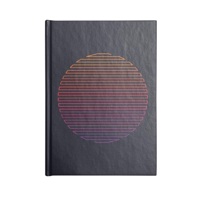 Linear Light Accessories Notebook by thepapercrane's shop