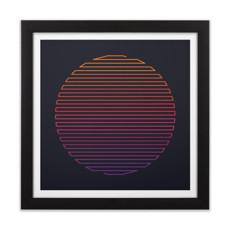 Linear Light Home Framed Fine Art Print by thepapercrane's shop