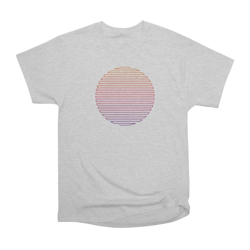 Linear Light Men's Heavyweight T-Shirt by thepapercrane's shop