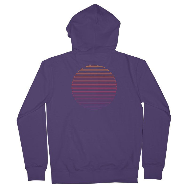 Linear Light Women's French Terry Zip-Up Hoody by thepapercrane's shop