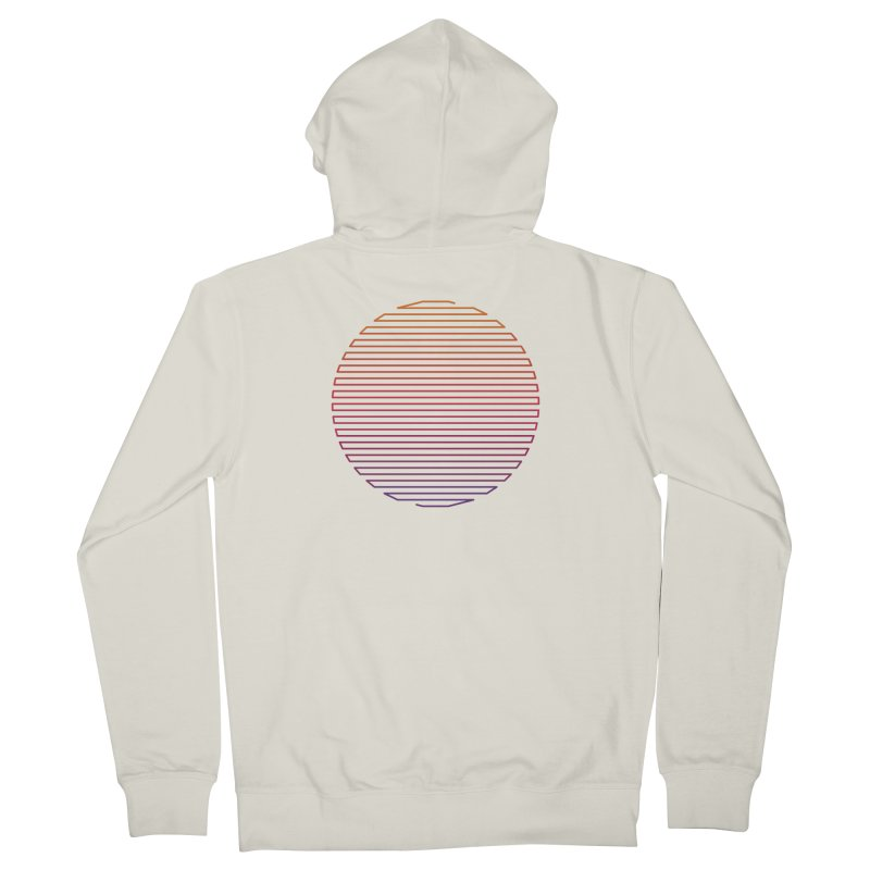 Linear Light Men's French Terry Zip-Up Hoody by thepapercrane's shop
